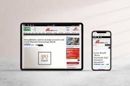 ufficio stampa e siti web per medici - ARS agenzia creativa Roma